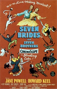 Sete Noivas Para Sete Irmãos - Poster / Capa / Cartaz - Oficial 3