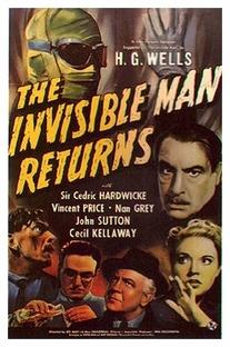 A Volta do Homem Invisível - Poster / Capa / Cartaz - Oficial 1
