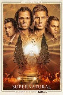 Sobrenatural (15ª Temporada) - Poster / Capa / Cartaz - Oficial 1
