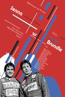 Senna vs Brundle - Poster / Capa / Cartaz - Oficial 1