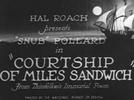 Falando sozinho (Courtship of Miles Sandwich)