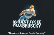 As Aventuras de Paulo Bruscky - Poster / Capa / Cartaz - Oficial 1