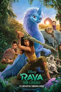 Raya e o Último Dragão - Poster / Capa / Cartaz - Oficial 6