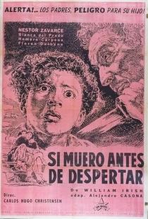 Se Eu Morrer Antes de Acordar - Poster / Capa / Cartaz - Oficial 1