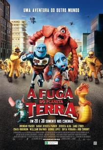 A Fuga do Planeta Terra - Poster / Capa / Cartaz - Oficial 2