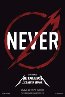 Metallica - Amped for IMAX - Poster / Capa / Cartaz - Oficial 1