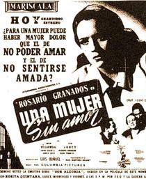Uma Mulher Sem Amor - Poster / Capa / Cartaz - Oficial 2