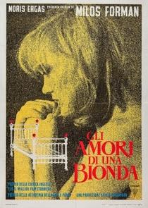 Os Amores de uma Loira - Poster / Capa / Cartaz - Oficial 2