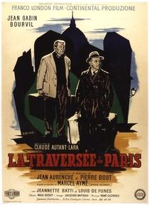 A Travessia de Paris - Poster / Capa / Cartaz - Oficial 1