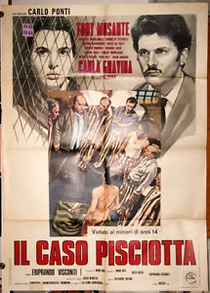 Il Caso Pisciotta  - Poster / Capa / Cartaz - Oficial 1