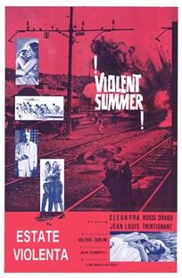 Verão Violento - Poster / Capa / Cartaz - Oficial 1