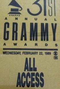 The 31st Annual Grammy Awards - Poster / Capa / Cartaz - Oficial 1