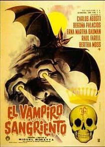 El Vampiro Sangriento - Poster / Capa / Cartaz - Oficial 1