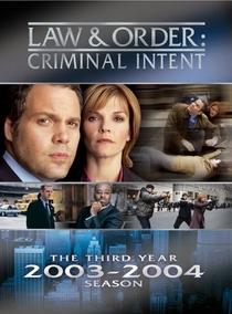 Lei & Ordem: Criminal Intent (3ª Temporada) - Poster / Capa / Cartaz - Oficial 1