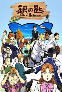 Gin no Saji (2ª Temporada) - Poster / Capa / Cartaz - Oficial 3