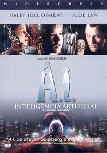 A.I. Inteligência Artificial - Poster / Capa / Cartaz - Oficial 4