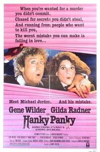 Hanky Panky - Uma Dupla em Apuros - Poster / Capa / Cartaz - Oficial 1