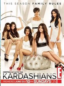 Keeping up with the Kardashians (6ª temporada) - Poster / Capa / Cartaz - Oficial 1