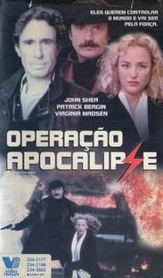 Operação Apocalipse - Poster / Capa / Cartaz - Oficial 1