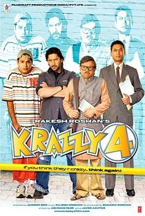 Krazzy 4 - Poster / Capa / Cartaz - Oficial 2