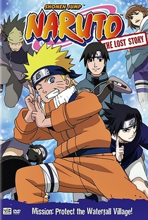 Naruto: OVA 2 - Batalha na Cachoeira Escondida. Eu sou o Herói! - Poster / Capa / Cartaz - Oficial 1