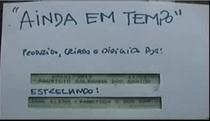 Ainda Em Tempo - Poster / Capa / Cartaz - Oficial 1