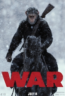 Planeta dos Macacos: A Guerra - Poster / Capa / Cartaz - Oficial 7