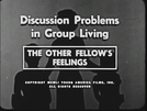 The Other Fellow's Feelings (The Other Fellow's Feelings)