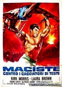 Maciste Contra os Caçadores de Cabeças - Poster / Capa / Cartaz - Oficial 1