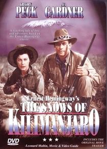 As Neves do Kilimanjaro - Poster / Capa / Cartaz - Oficial 4