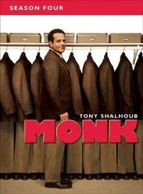 Monk: Um Detetive Diferente (4ª Temporada) - Poster / Capa / Cartaz - Oficial 1