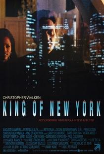 O Rei de Nova York - Poster / Capa / Cartaz - Oficial 1