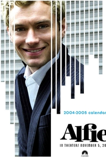 Alfie - O Sedutor - Poster / Capa / Cartaz - Oficial 2