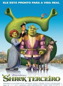 Shrek Terceiro - Poster / Capa / Cartaz - Oficial 1