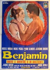 Benjamin, o Despertar de um Jovem Inocente - Poster / Capa / Cartaz - Oficial 6