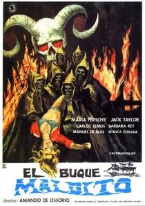 El Buque Maldito - Poster / Capa / Cartaz - Oficial 4
