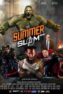 WWE Summerslam - (2013) - Poster / Capa / Cartaz - Oficial 2