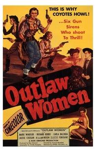 Outlaw Women - Poster / Capa / Cartaz - Oficial 1