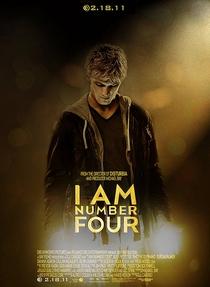 Eu Sou O Número Quatro - Poster / Capa / Cartaz - Oficial 2