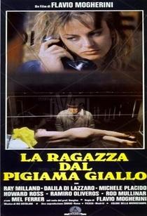 A Moça de Pijama Amarelo - Poster / Capa / Cartaz - Oficial 4