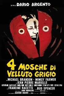 Quatro Moscas Sobre Veludo Cinza - Poster / Capa / Cartaz - Oficial 5