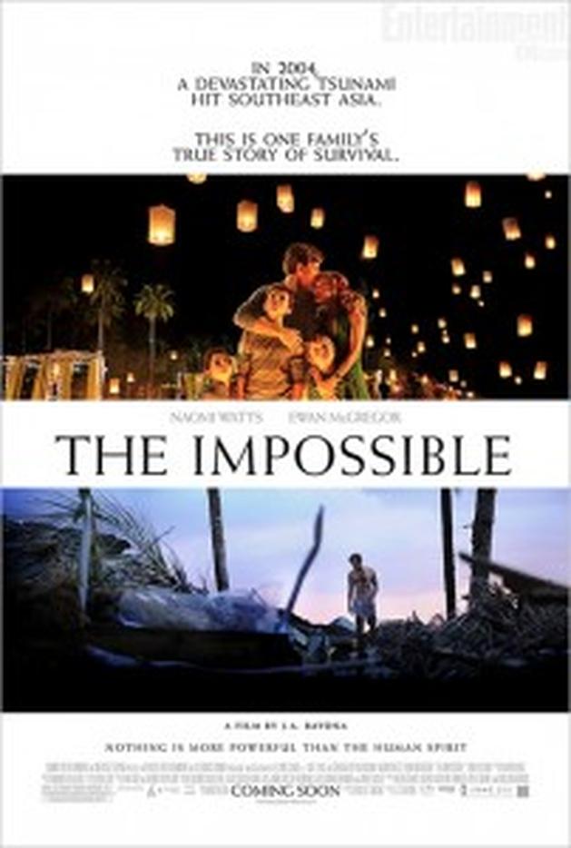 O Impossível | Drama ganha novo pôster e dois clipes