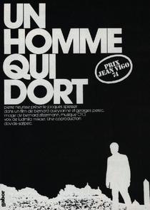 Um Homem que Dorme - Poster / Capa / Cartaz - Oficial 1