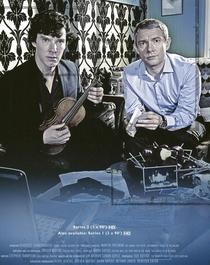 Sherlock (2ª Temporada) - Poster / Capa / Cartaz - Oficial 3