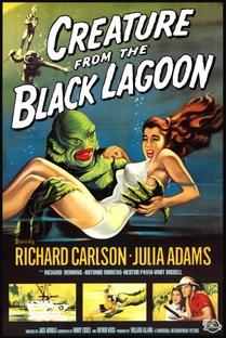 O Monstro da Lagoa Negra - Poster / Capa / Cartaz - Oficial 2