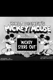 Mickey Steps Out - Poster / Capa / Cartaz - Oficial 1