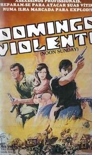 Domingo Violento - Poster / Capa / Cartaz - Oficial 1
