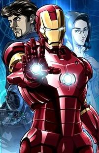 Marvel Anime: Homem de Ferro - Poster / Capa / Cartaz - Oficial 1