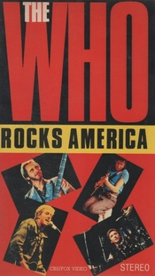 The Who - Rocks America  - Poster / Capa / Cartaz - Oficial 1