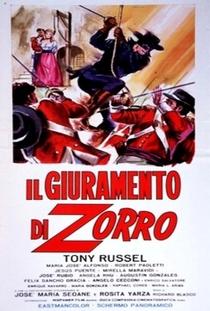 O Juramento do Zorro - Poster / Capa / Cartaz - Oficial 3